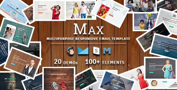 Macho - Multipurpose Responsive Email Template - 1