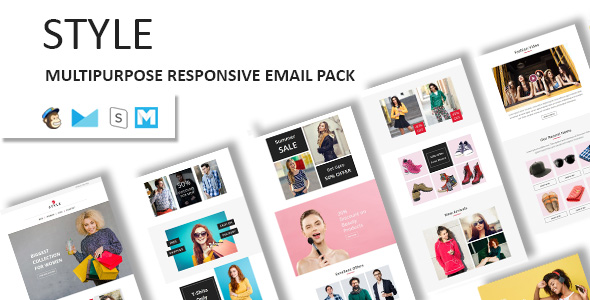 NOVA - Multipurpose Responsive Email Template With Stampready Builder & Mailchimp Access - 5