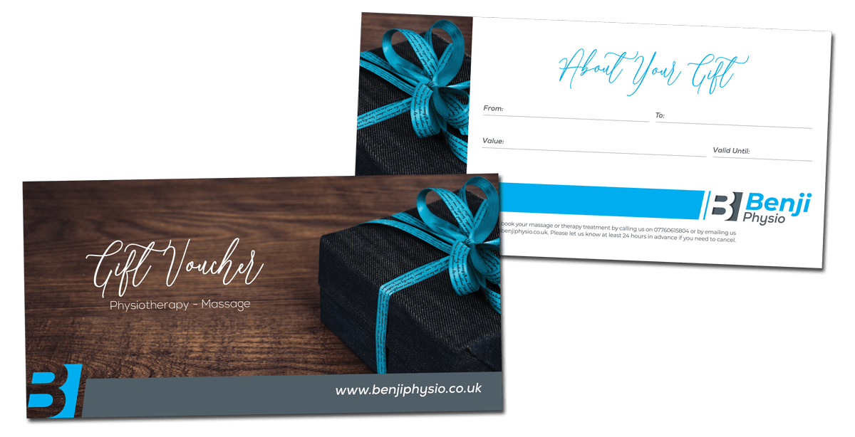 Gift voucher for Benji Physio
