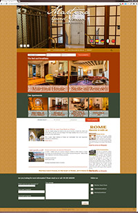 Website for Martina Guest House