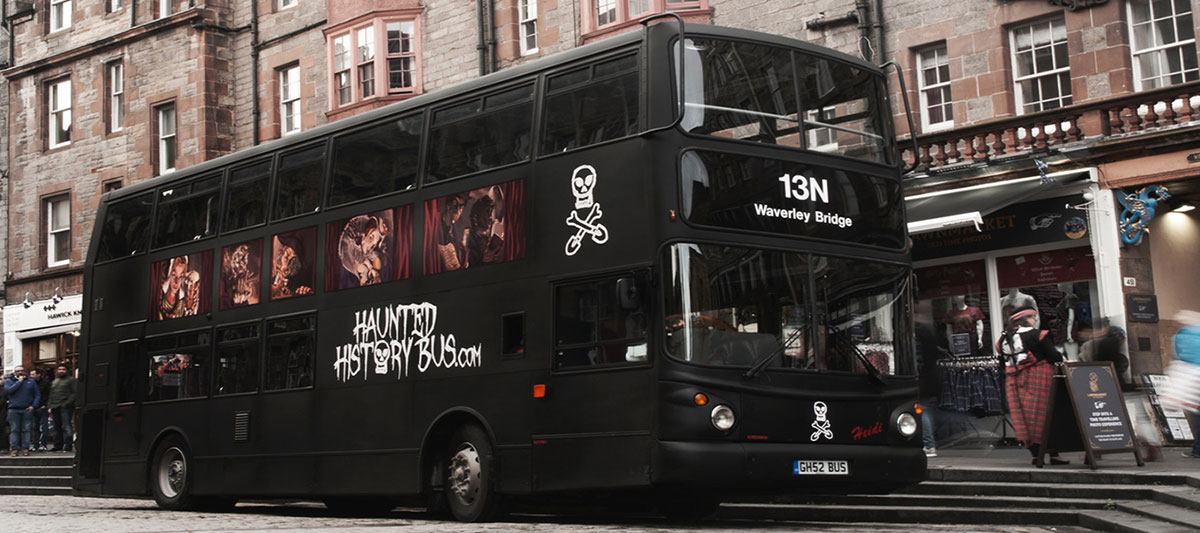 Livery for the Haunted History Bus