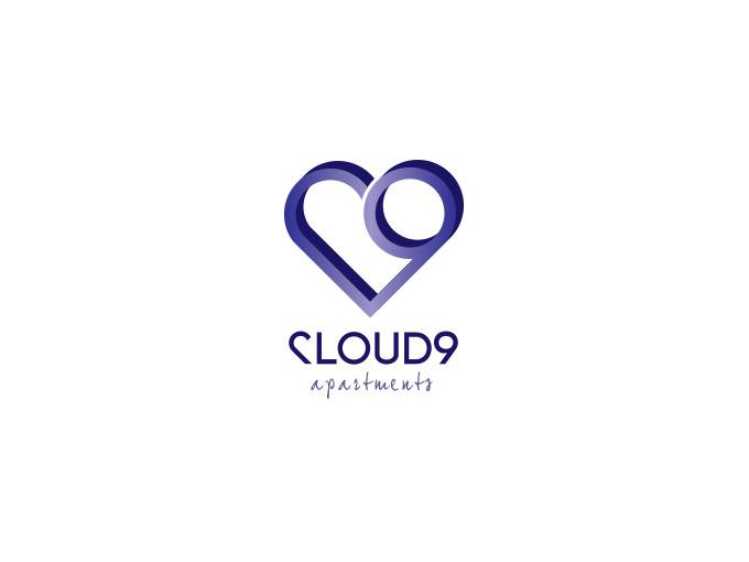 Logo design for Cloud 9 apartments