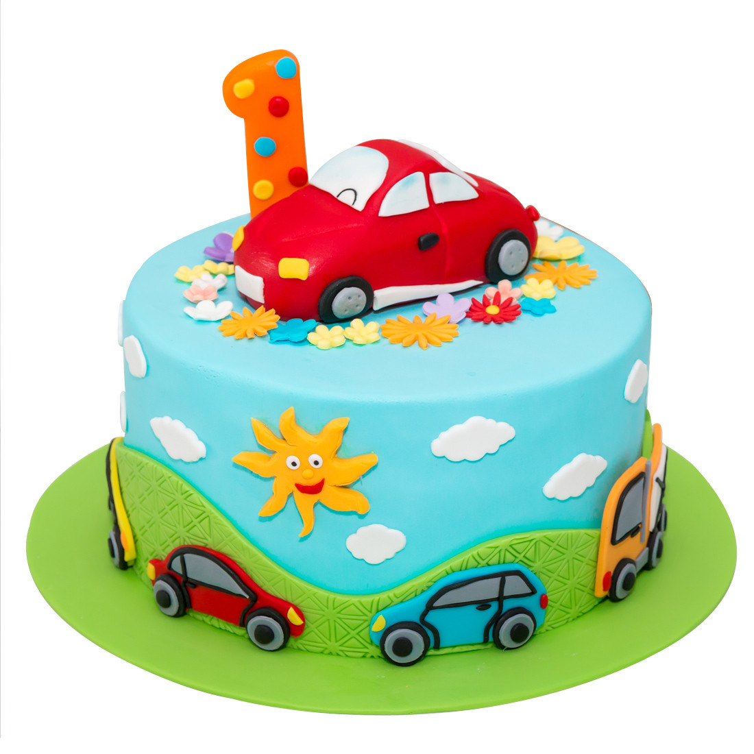 Car cake design for boys without fondant next, crumb coat the carved cake with buttercream. Cute Racing Car Kids Cake 2 Kg And Card