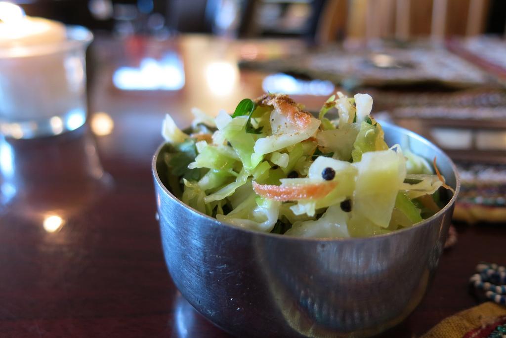 Crunchy Cabbage Chili Salad – Cabbage Chili Sambharo