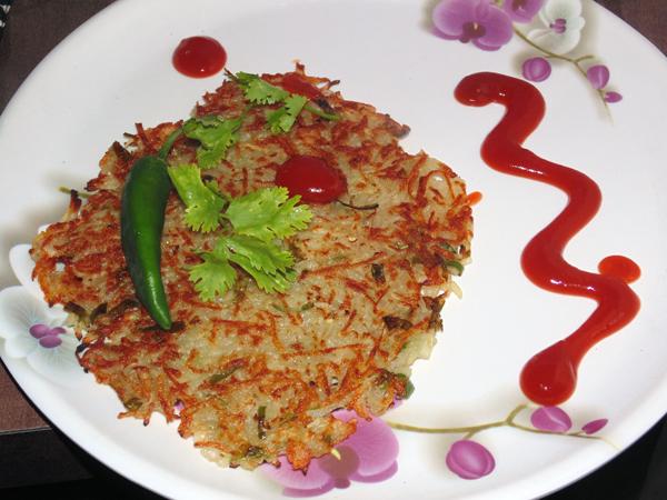 Farali Aloo Pudla (Potato Roasties)