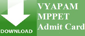 MPPET Admit Card 2014