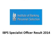 ibps specialist officer iii result 2014