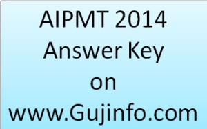 CBSE AIPMT 2014 Answer Key Download