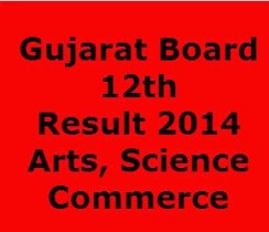 GSEB HSC 12th Result 2014