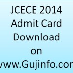 JCECE 2014 Admit Card Download