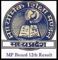 MP Board 12th Result 2014
