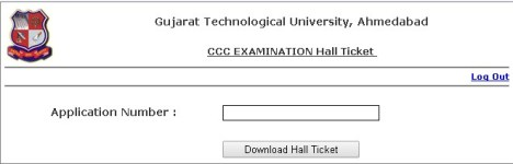 CCC GTU Phase 2 Hall Ticket