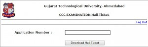 GTU CCC Phase 3 Hall Ticket