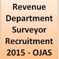 Revenue Department Surveyor Recruitment 2015