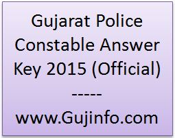 GPRB Constable Answer Key 2015