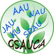 GSAUCA Admission 2015-16 Notification
