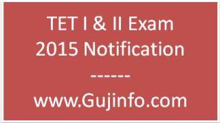 GSEB TET I & TET II 2015