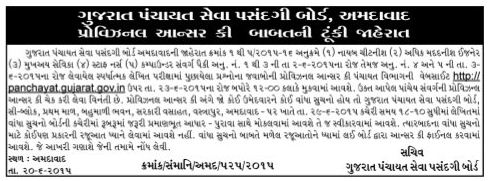 GPSSB Nayab Chitnis Answer Key 2015