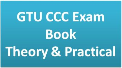 GTU CCC Exam Book Download