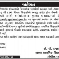 Gandhinagar Teacher Seniority List