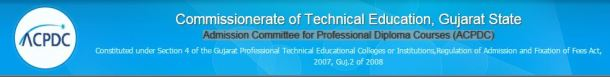 Gujarat Diploma Seat Allotment 2015