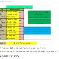 Standard 6 to 8 Auto Fill Time Table