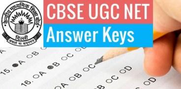 CBSE UGC NET Answer Key 27 December 2015