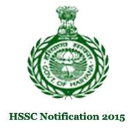 HSSC Clerk Recruitment 2015-2016