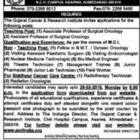 GCRI India Recruitment 2016