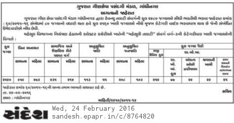 New 80 Seat Increase in Revenue Talati Bharti 2015