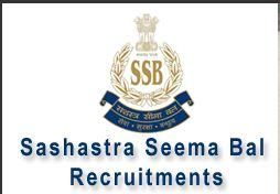 SSB Recruitment 2016