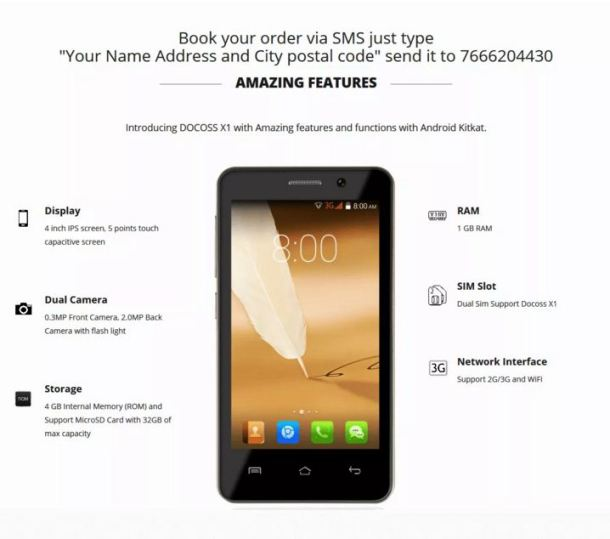 www.docoss.com docoss x1 mobile Booking online