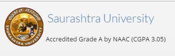 Saurashtra University B.A./B.Com./M.A/M.Com Sem 3 Exam Form