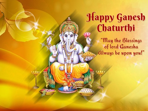 Vinayak Chavithi wishes images
