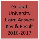 Gujarat University Exam Answer Key & Result