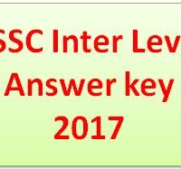 BSSC Inter Level Answer key
