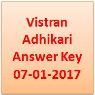 Vistran Adhikari Answer Key 2017