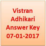 Vistran Adhikari Answer Key 2017