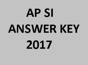 AP SI Answer Key 2017