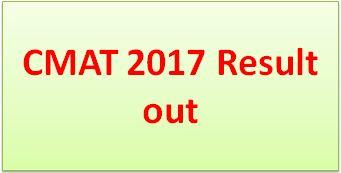 CMAT 2017 result