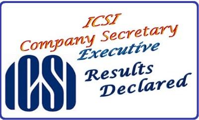 ICSI CS Results 2016
