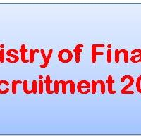 Ministry of Finance Recruitment 2017 Notification