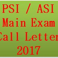 PSI ASI Main Exam Call Letter 2017
