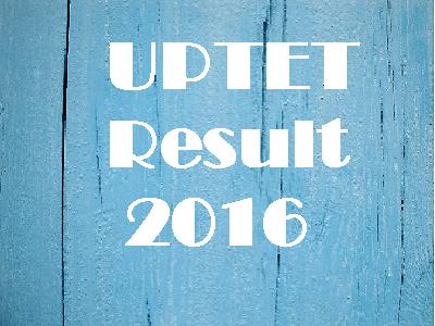 UPTET Result 2016