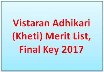 Vistaran Adhikari (Kheti) Result 2017