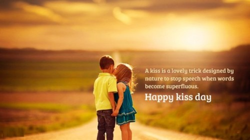 happy kiss day images 2017