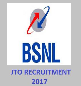 BSNL JTO Recruitment 2017