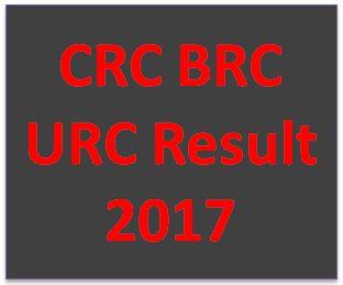 CRC BRC URC Result 2017