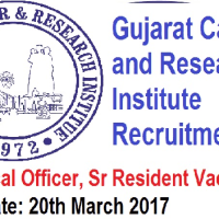 GCRI Recruitment 2017