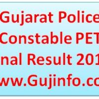 LRB Police Constable Final Result 2017